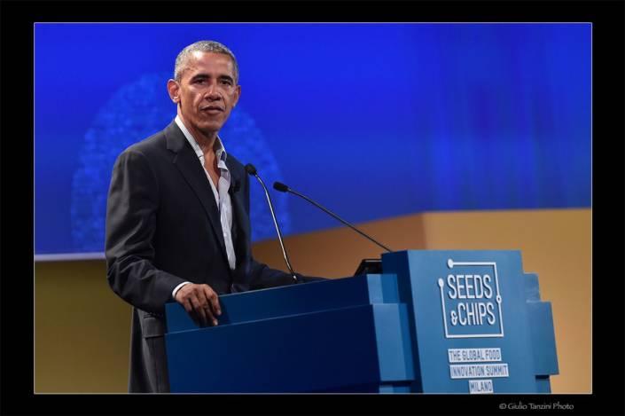 Barak Obama (Milano, 2017)