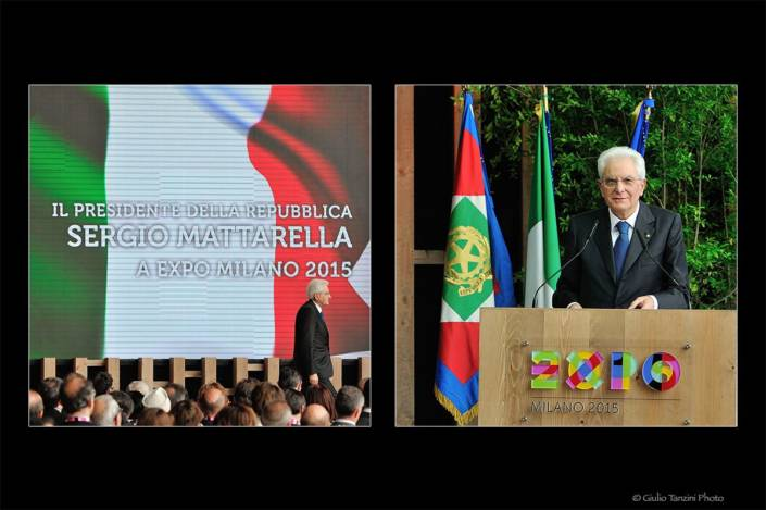 Sergio Mattarella (Milano Expo 2015)