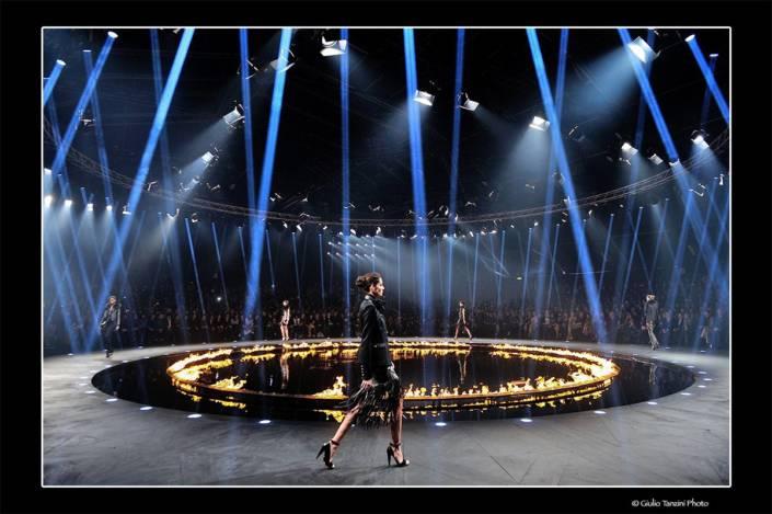 Sfilata Roberto Cavalli - 22 febbraio 2014 - fotografia di moda, Roberto Cavalli