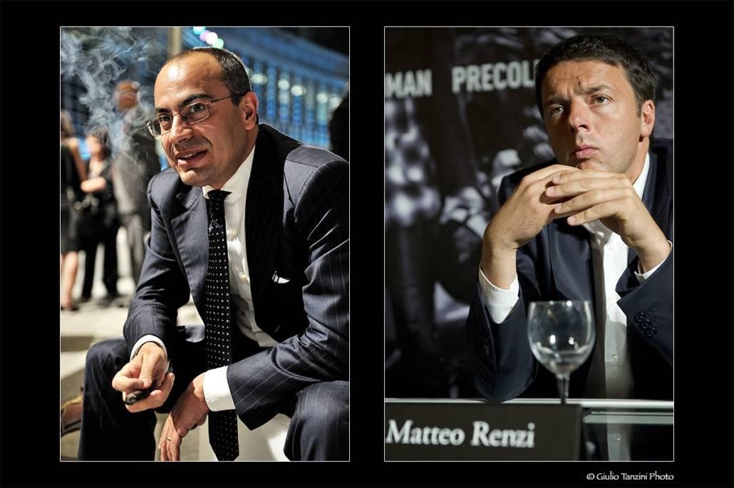 Gianluigi Paragone (2011) - Matteo Renzi (2013)