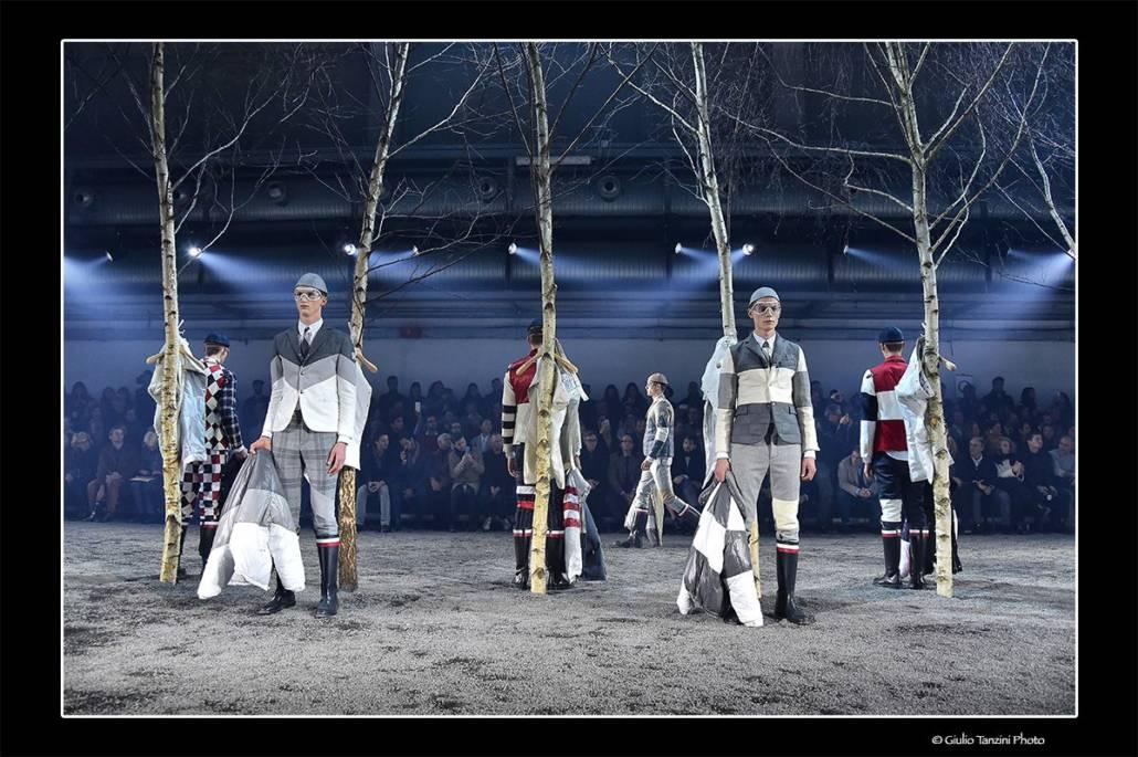 Sfilata Moncler - 18 gennaio 2015 - fotografia di moda, Moncler