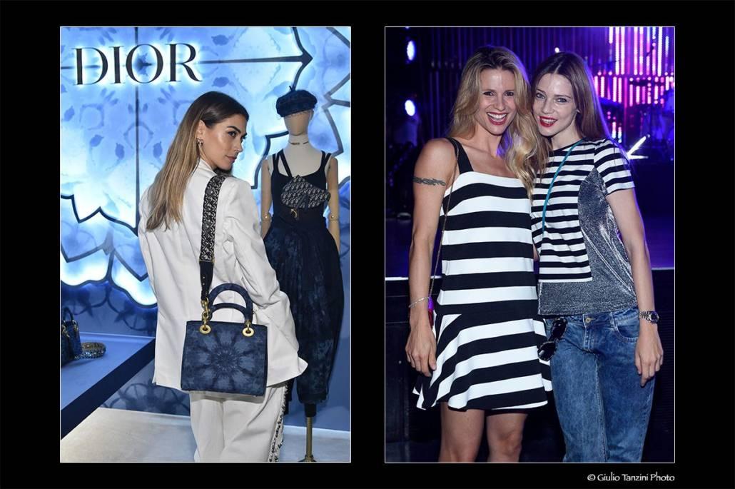 Melissa Satta (Dior 2019) - Michelle Hunziker e Gaia Trussardi (2014)
