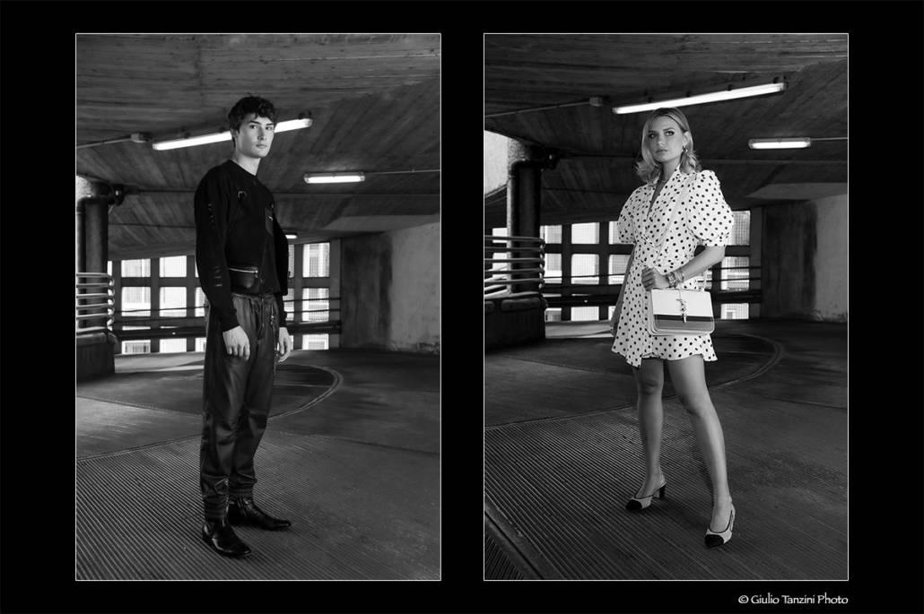 Shooting for Trussardi (2019) - fotografia di moda, Veronica Ferraro per Trussardi