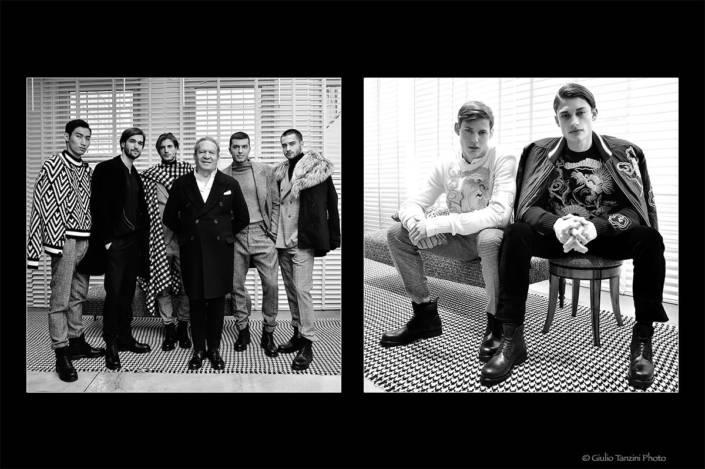 Ermanno Scervino - 16 gennaio 2017 - fotografia di moda, Ermanno Scervino e i suoi modelli, moda uomo