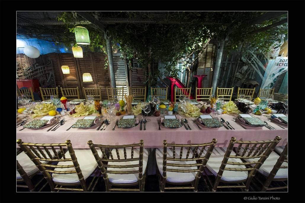 Servizio fotografico per cena evento allo Spazio Rossana Orlandi