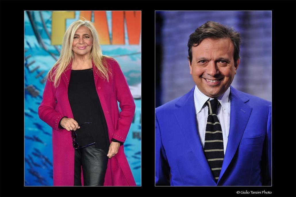 Mara Venier (2018) - Piero Chiambretti (2012)