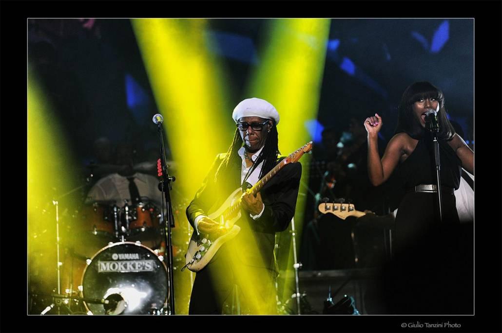 Nile Rodgers (Roma, 2016)